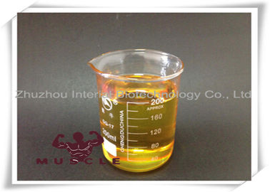 중국 Yellow Liquid Injectable Anabolic Steroids Nandrolone Cypionate Muscle Building Steroids Oil 공장