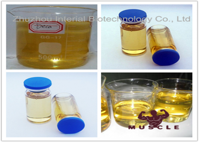 Yellow Liquid Injectable Anabolic Steroids Nandrolone Cypionate Muscle Building Steroids Oil