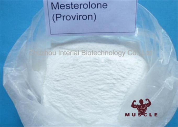 99.3% Purity Yellow Liquid Injectable Anabolic Steroids Powder Mesterone Proviron 50mg/ml For Muscle Build